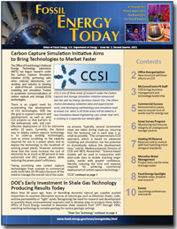 Fossil Energy Today, Issue No. 2, Second Quarter, 2011