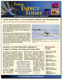 Fossil Energy Today, Issue No. 3, Third Quarter 2011