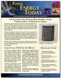 Fossil Energy Today, Issue No. 5, First Quarter 2012
